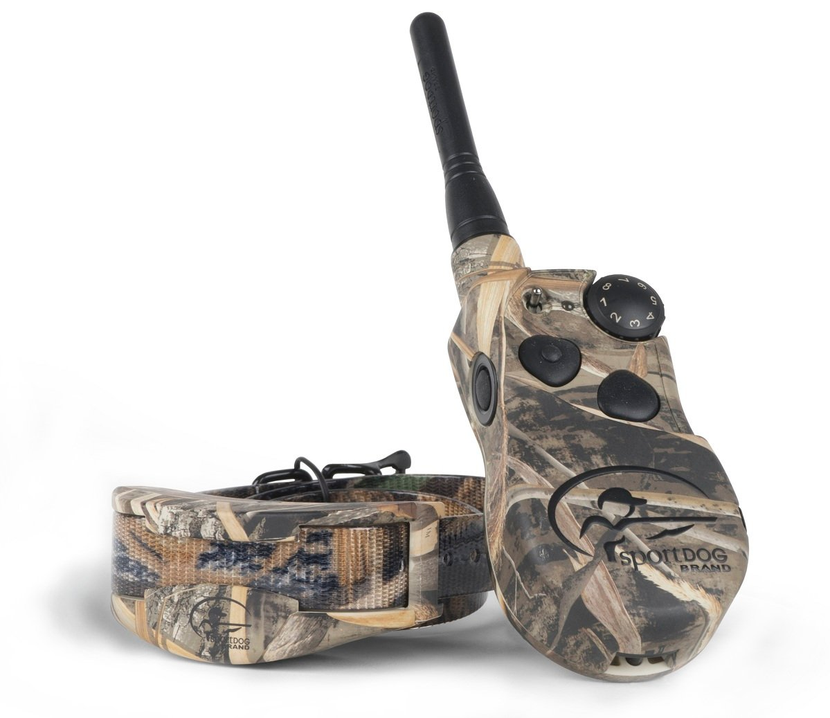 SportDOG Brand WetlandHunter 1825 Remote Trainer - 1 Mile Range - Waterproof, Rechargeable Dog Training Collar in Camouflage with Tone, Vibration, and Shock