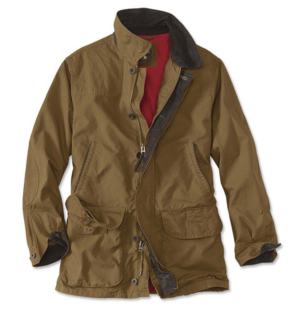 Orvis Men's Heritage Field Coat, Tobacco, XX Large