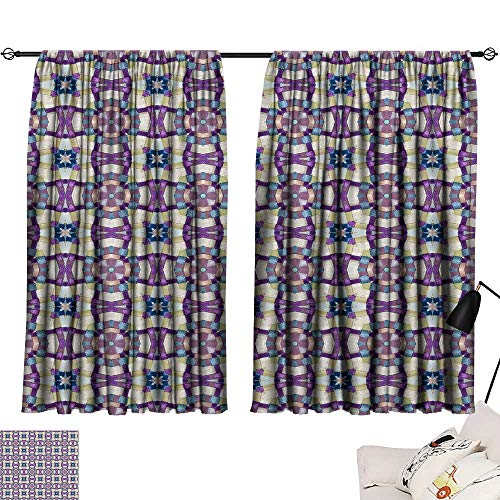 Hariiuet Thermal Insulated Blackout Curtains Seamless Wallpaper pattern1111115 54