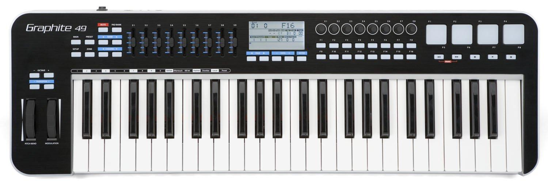 Samson Graphite 49 USB MIDI Controller by Samson Technologies
