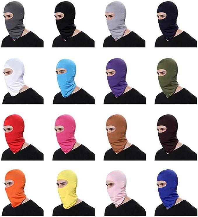 Togames-IT Maschera a Pieno facciale per Sci da Sci allaperto per la Caccia Tattica da Motociclista