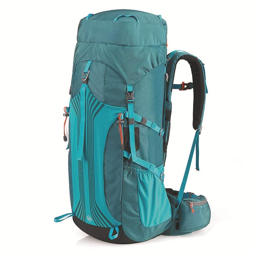 Mountaineering Bag ショルダーショルダーバッグ 旅行バッグ ハイキング アウトドアバッグ 大容量 旅行用バックパック(アズールアッシュ)  A B07GWXF62B