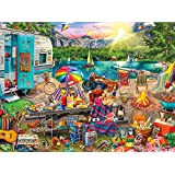 Buffalo Games-Aimee Stewart-The Family Campsite-1000 Piece Jigsaw Puzzle