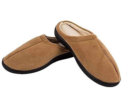 Welzenter Relax, Zapatillas de Estar por casa con talón Abierto para Hombre: Amazon.es: Zapatos y complementos