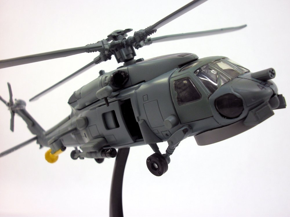 Large 1:60 scale Sikorski Seahawk SH-60 Model on Stand Diecast Model Helicopter by Skypilot