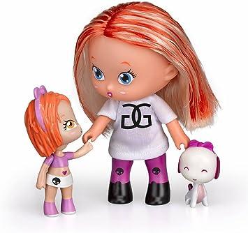 Amazon.es: Barriguitas - Set Figura Adulta, niña y Mascota (Famosa 700012095): Juguetes y juegos
