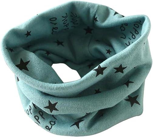 Halstuch Kinder 40*37cm, Lila ABsolute Jungen M/ädchen Loopschal Herbst Winter Kragen Schal O Ring Baumwolle Schals Baby Schlauchschal Rundschal