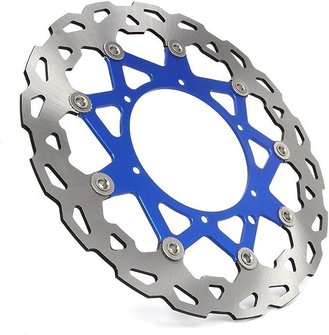 JFGRACING Rotor de disco de freno delantero flotante para KTM 400 450 500 505 520 525 530 540 SX SXF EXC SXS XC MX MXC XCW XCF XCG 600 620 625 640 GS LC4 ENDUROSUPERMOTO DUKE