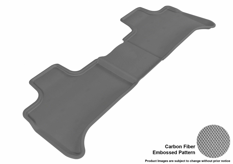 Kagu Rubber E53 Models Black L1BM00501509 3D MAXpider Complete Set Custom Fit All-Weather Floor Mat for Select BMW X5