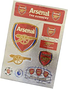 Football Club Stickers Laptop Stickers for Car Motorcycle Bicycle Luggage Graffiti Patches Skateboard Wall Decals (Arsenal)