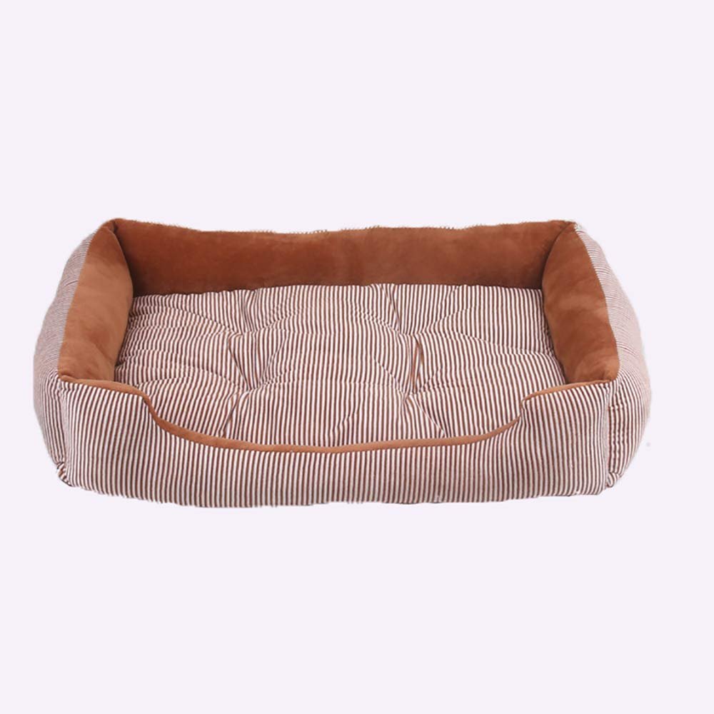 50x38x15cm Dog and Cat Pet Mats, Pet Nest for Small and Medium Dogs,Warmer Comfortable and Soft Pet Bed (Size   50x38x15cm)