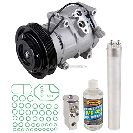amazon com: ac compressor w/a/c repair kit for honda accord 2003 2004 2005  2006 2007 - buyautoparts 60-80262rk new: automotive