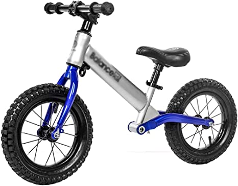 AIDELAI Bicicleta de Equilibrio para niños pequeños, Bicicleta de Equilibrio de Aluminio de 12 Pulgadas para niños y niños pequeños - Bicicleta de Entrenamiento sin Pedales para niños pequeños: Amazon.es: Deportes y