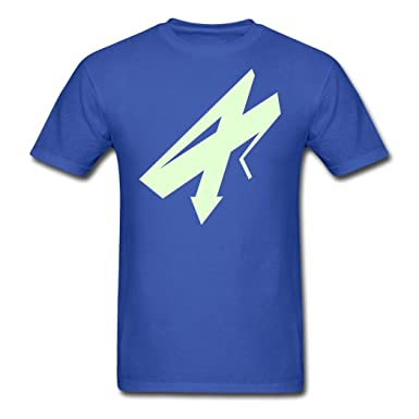 Royal blue Casual Arrow Vector Graphic jersey X-Large