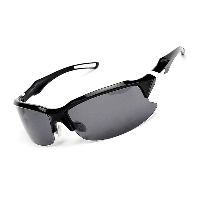 AnazoZ Gafas Deportes Gafas de Protecci/ón UV Gafas Polarizadas Gafas Deportivas Gafas Control de Arena Gafas de Sol Gafas de Montar
