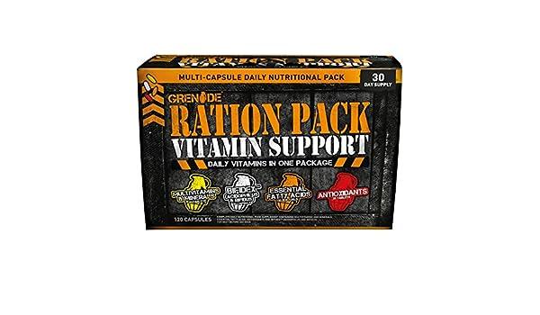 Grenade Ration Pack Standard - 120 Cápsulas: Amazon.es: Salud y cuidado personal