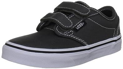 Vans Kids Atwood V (Canvas) Charcoal Skate Shoe 2.5 Kids US d3f9c9c91ce