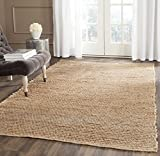 Safavieh Cape Cod Collection CAP355A Alfombra tejida a mano de tejido natural de yute plana (10 'x 14')