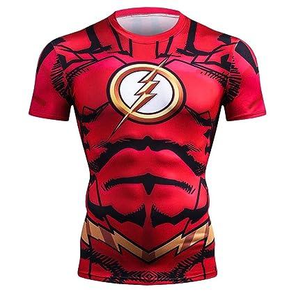bd9491a1dcea32 Grocoto T-Shirts - New Summer 3D Iron Spiderman T Shirt Men Marvel Avengers  Men