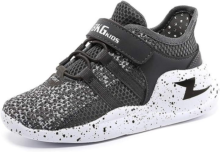 Tinoch - Zapatillas de Running para Correr o Correr al Aire Libre, (Dunkelgra), 32 EU: Amazon.es: Zapatos y complementos