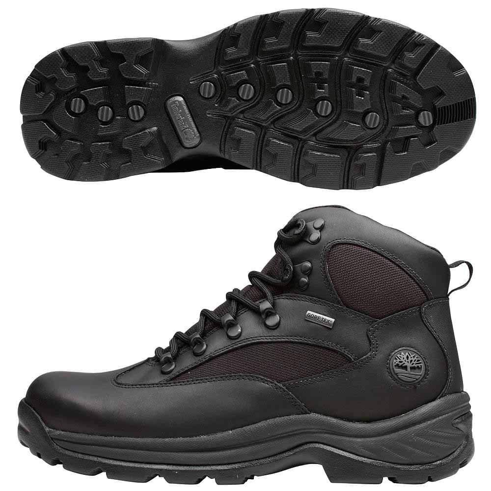 Timberland Men's Chocorua Trail Gore-Tex Mid Hiking Boot (13 D(M) US, Black/Black)