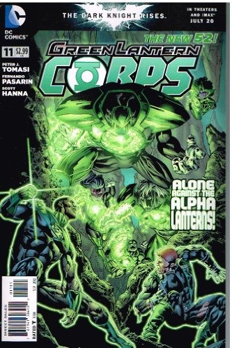 GREEN LANTERN CORPS # 11 (Sept 2012) The New 52 Series