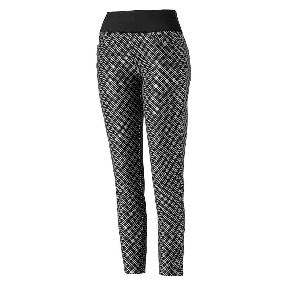 Puma Golf Women's 2019 Pwrshape Checker Pant, Puma Black, x Small by PUMA