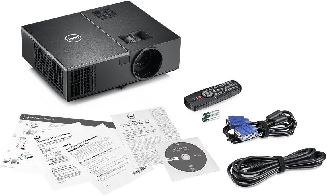 DELL 1650 Video - Proyector (3800 lúmenes ANSI, DLP, WXGA ...