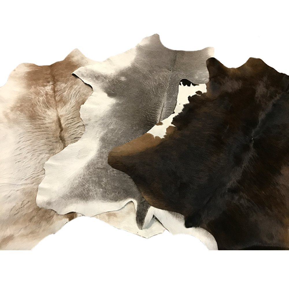 Trahide Company Hair On Calf Hide - Brown & White