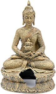 Penn-Plax Sitting Buddha Aquarium Decor