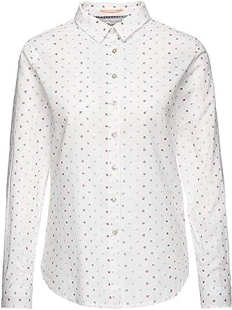PEPE JEANS DONA P - Camisa de Manga Larga Mujer Color: Blanco Talla: XL: Amazon.es: Ropa y accesorios