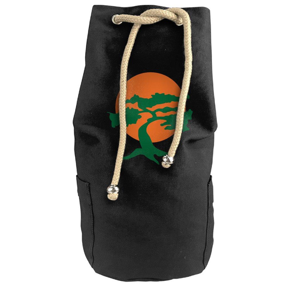Vintage Miyagi Dojo Karate Canvas Drawstring Backpack Bag BUTERI COIOP