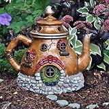 Cheap Fairy Garden Tea Pot House