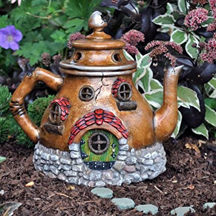 Georgetown Home U0026 Garden Fairy Garden Tea Pot House