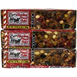 Fruit Cake Boxed 3 - 1 lb Dark Recipe Claxton Fruitcake