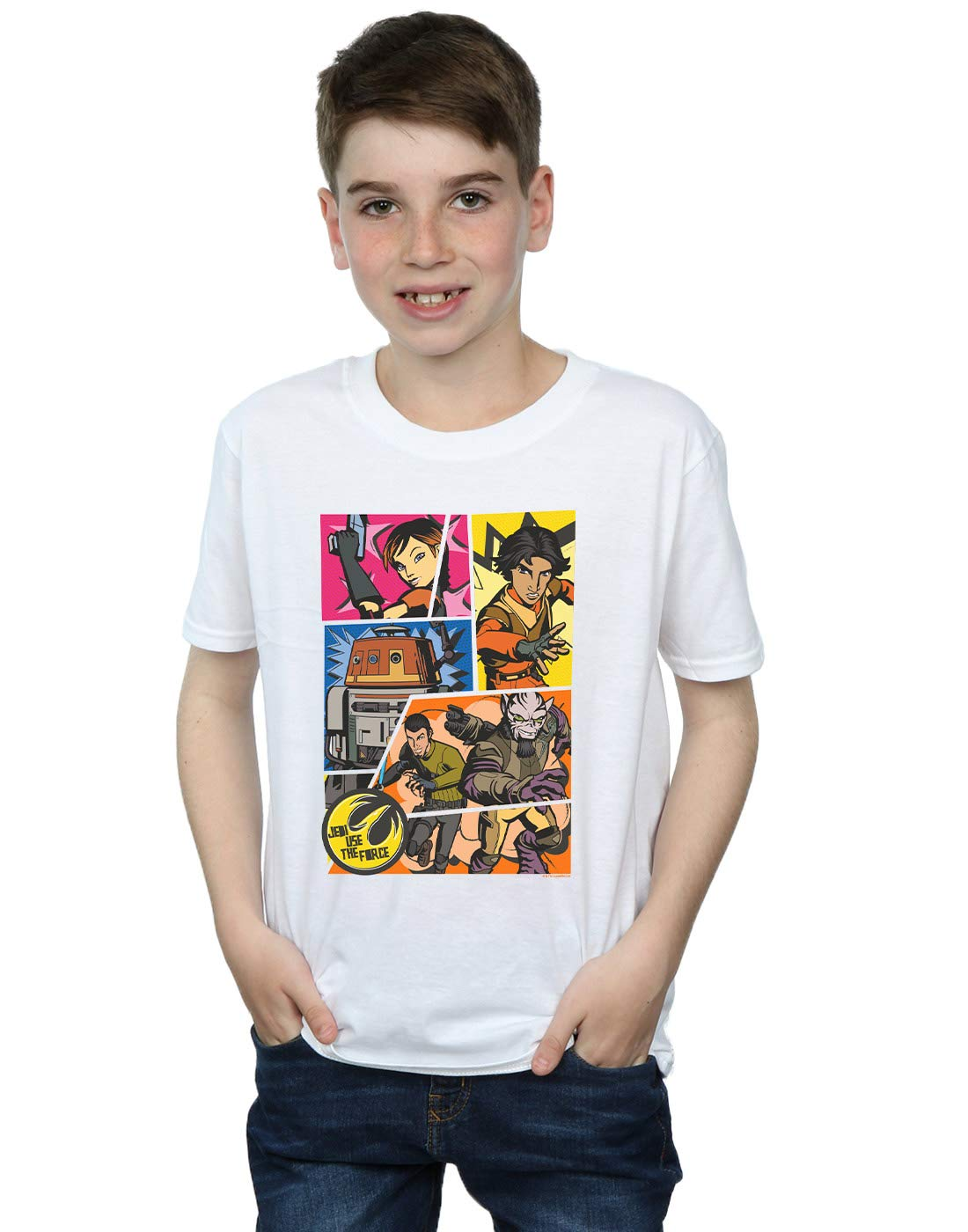 Star Wars Rebels Comic Strip Tshirt