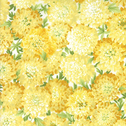 Moda Sentimental Studios (Golden Yellow Asters, Summer Breeze IV, Sentimental Studios, Moda)