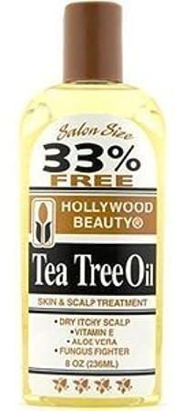 Hollywood Beauty Tea Tree Oil Skin Scalp Treatment, 8 oz Pack of 6