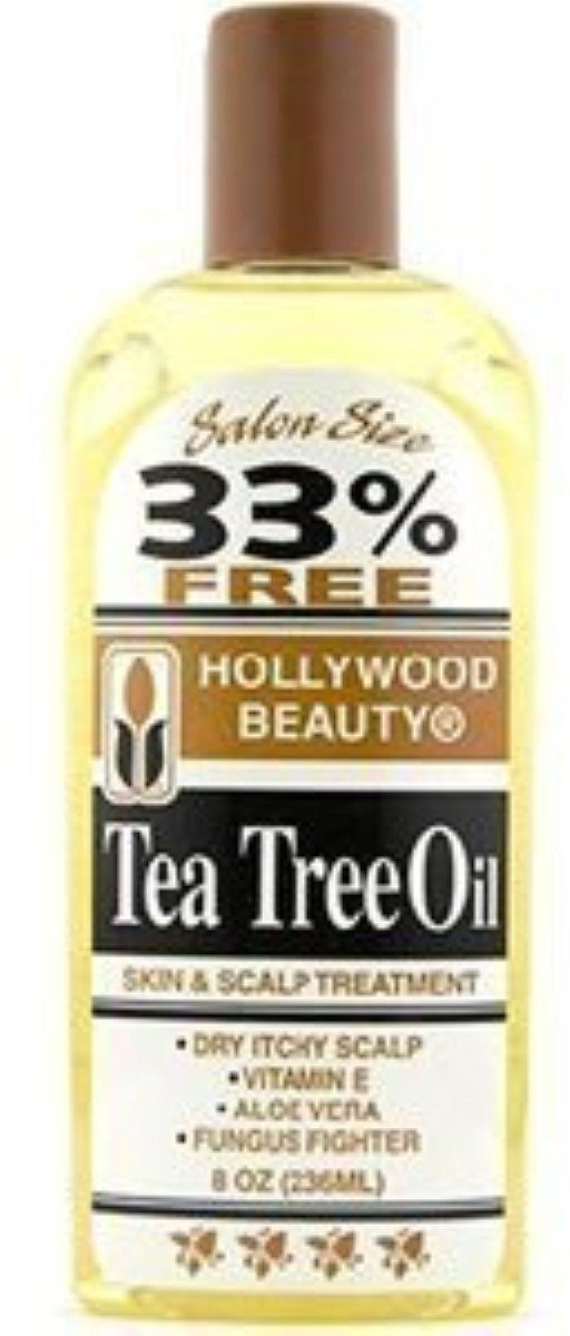 Hollywood Beauty Tea Tree Oil Skin & Scalp Treatment, 8 oz (Pack of 3)