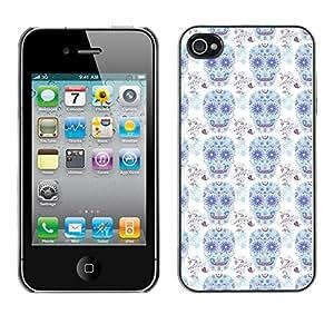 ZECASE Funda Carcasa Tapa Case Cover Para Apple iPhone 4 / 4S No.0002534