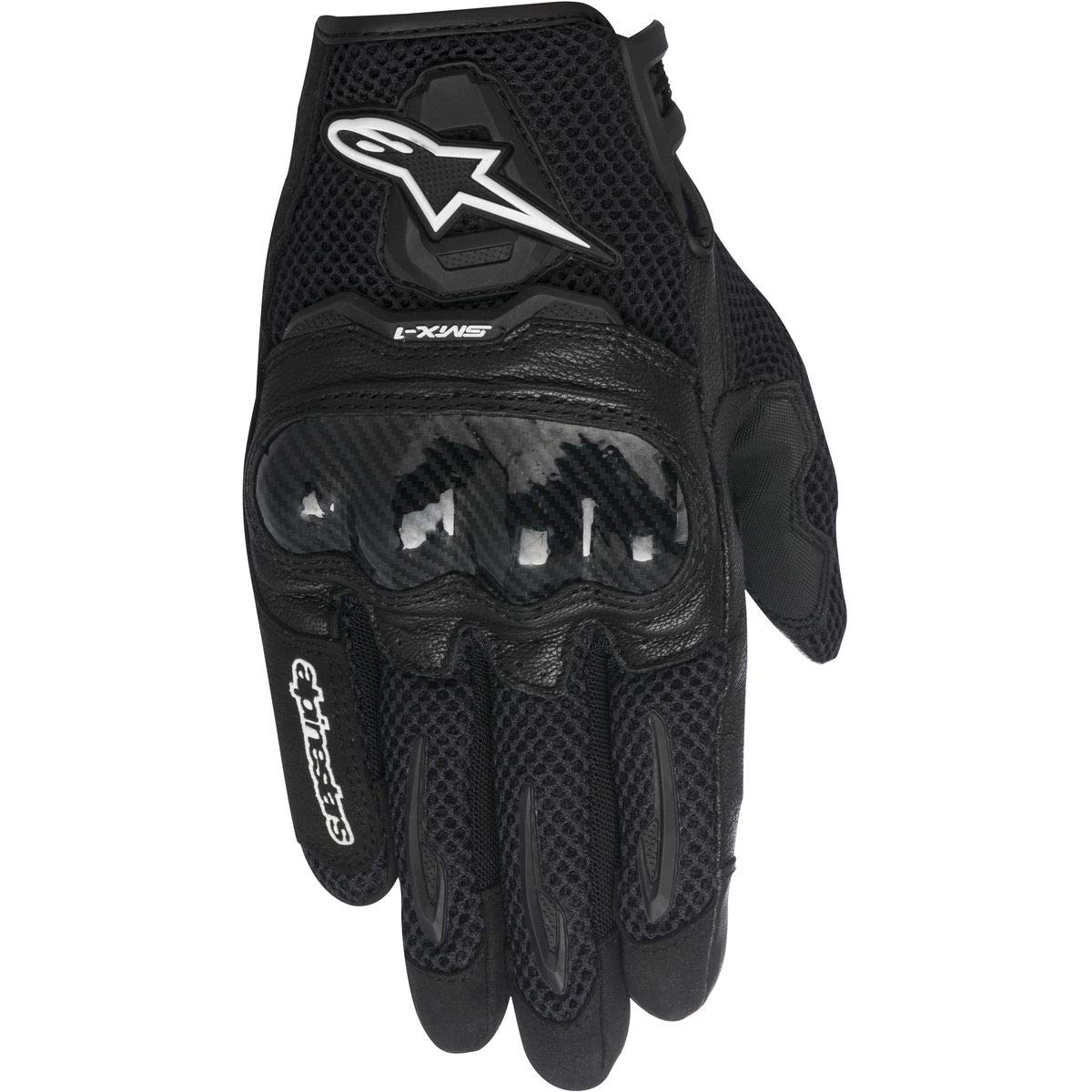 Alpinestars Women's Stella SMX-1 Air Gloves (Medium) (Black) by Alpinestars