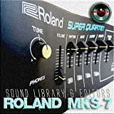 for ROLAND MKS-7 Original Factory & NEW Created Sound Library & Editors on CD or download