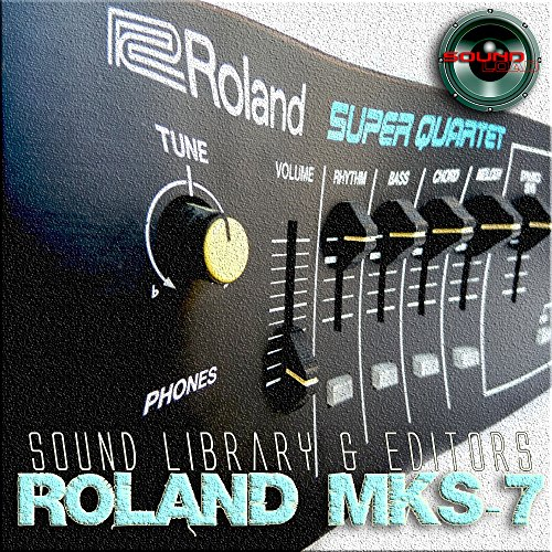 for ROLAND MKS-7 Original Factory & NEW Created Sound Library & Editors on CD or download by SoundLoad