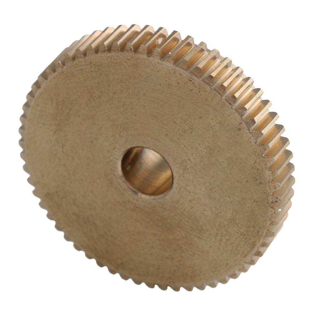 12x11x4mm Gelb 0,5 Modul 4mm Au/ßendurchmesser 20 Z/ähne Messing Schneckenrad Zubeh/ör f/ür Getriebe Welle Fahren