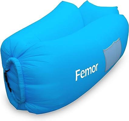 Amazon.com: Sofá cama hinchable a prueba de agua y portátil ...