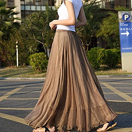 8620c2575b6 Amazon.com  gloednApple Chiffon Long Dresses
