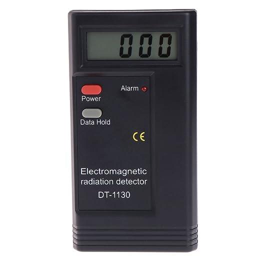 Detector de radiación electromagnético LCD digital EMF medidor dosimetro Tester DT1130: Amazon.es: Hogar