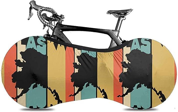 Cubierta de bicicleta Estilo retro Alaska Silueta Cubierta de ...