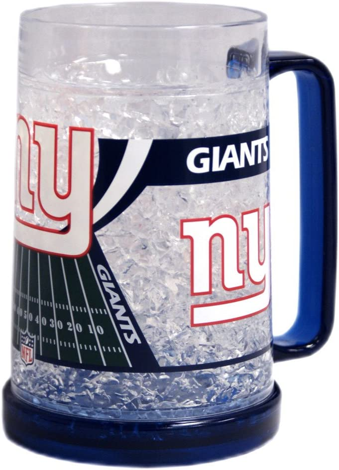 New York Giants Crystal Freezer Mug (Quantity of 1)