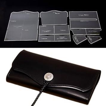 PANINA Acrylglas klar Multi Muster für Leder Nähen, lange ...